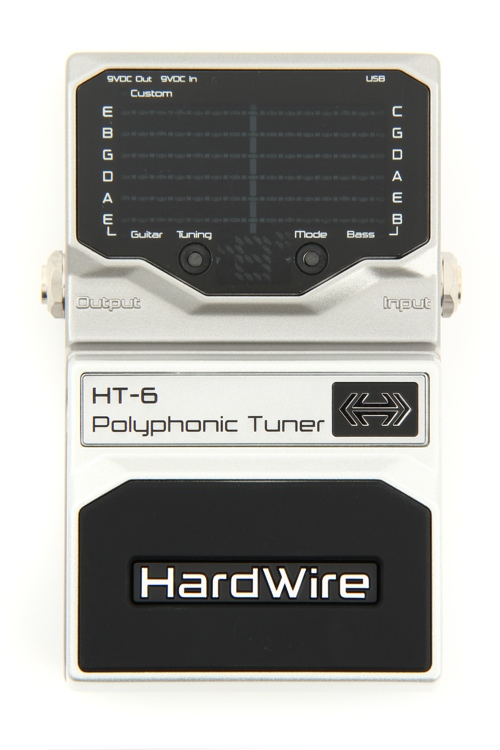 DigiTech HardWire HT-6 Polyphonic Tuner by DigiTech