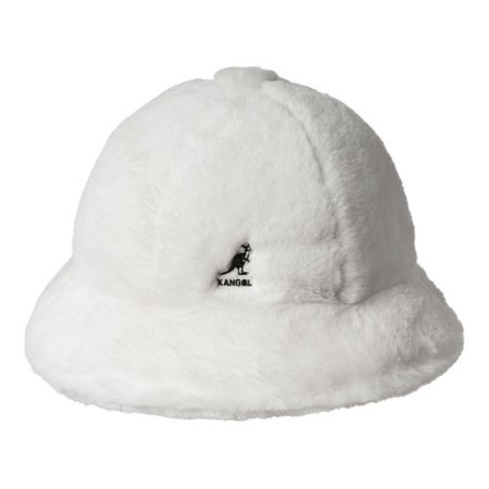 KANGOL - Kangol Faux Fur Casual Bucket Hat - Walmart.com 35a820063e47