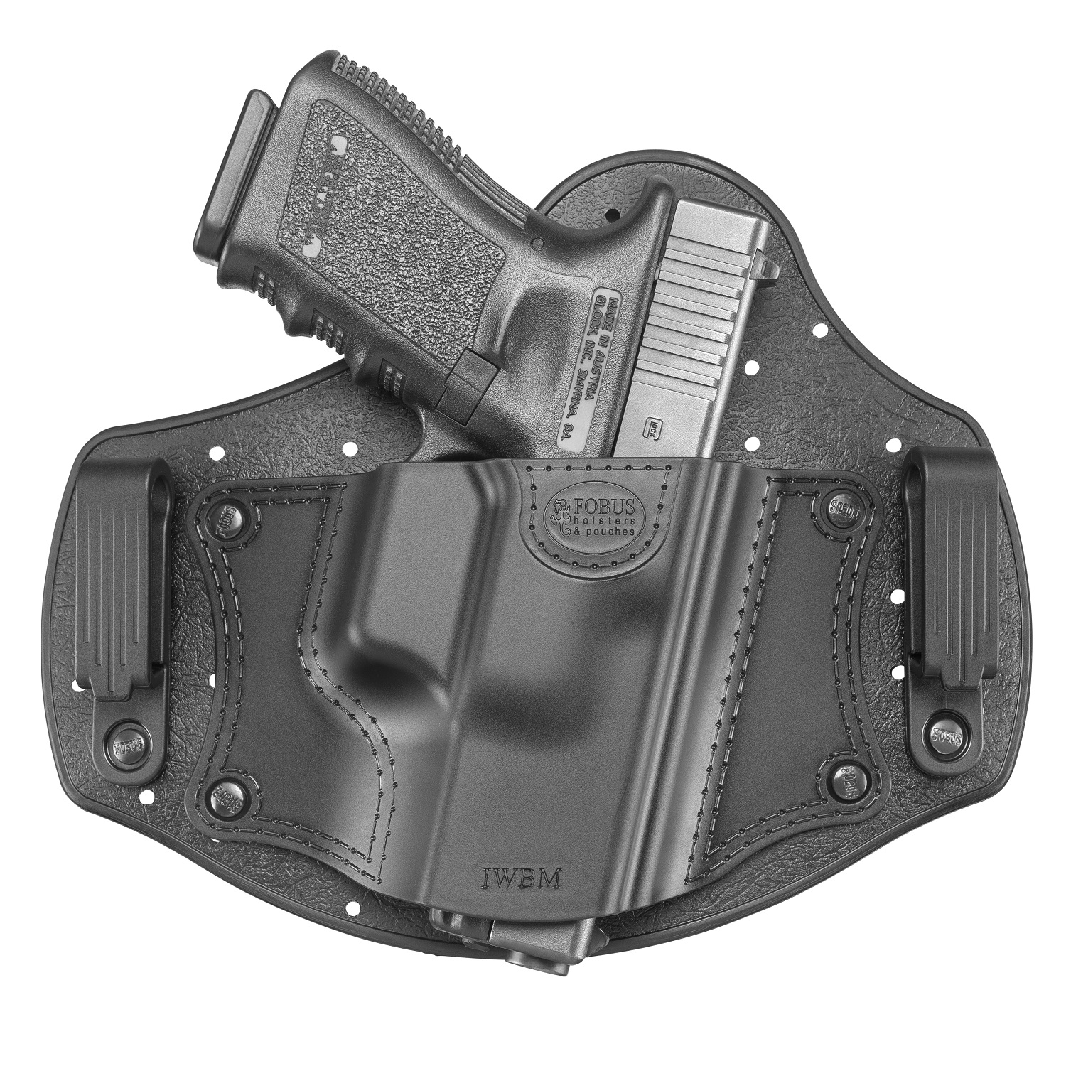Click here to buy Fobus Universal Medium Size Inside Waistband Holster SKU: IWBM with Elite Tactical Cloth by Fobus.