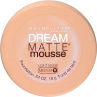 Maybelline New York Dream Matte Mousse Foundation, Light Beige