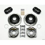 Wilwood Dynapro Low-Profile 11.00in P-Brake Kit Drilled Chevy 12 Bolt 2.75in Off w/ C-Clips