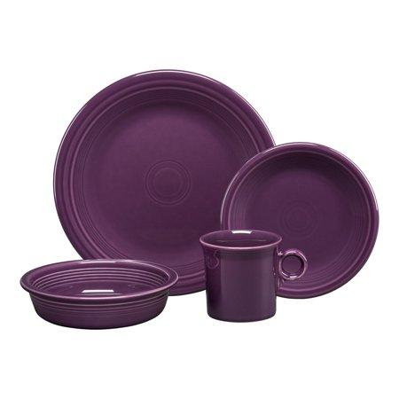(Fiesta 4- Piece Place Setting - Mulberry Purple)