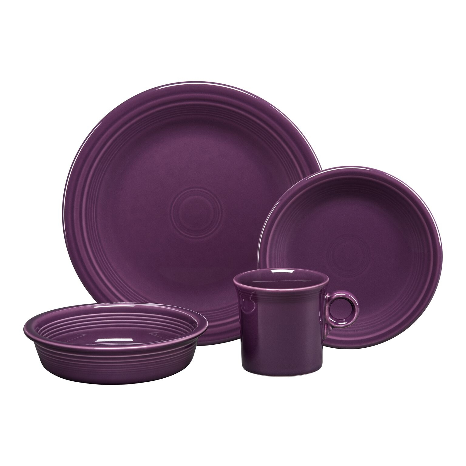 Fiesta®  4- Piece Place Setting - Mulberry Purple