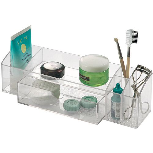 "InterDesign Med Plus Drawer Caddy, 12"", Clear  42930DH"