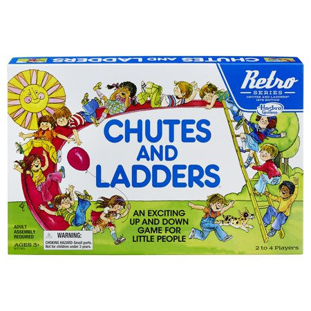 Hasbro Retro Chutes and Ladders Board Game](Chutes And Ladders Game)
