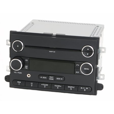 2010 Ford Explorer Mountaineer Radio AM FM CD Player w Aux Input AL2T-18C869-AC -