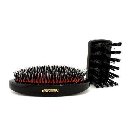 Mason Pearson Shaving Brush - Mason Pearson  Junior Military Bristle/Nylon Mix Hair Brush