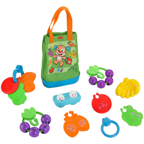 Fisher-Price Laugh & Learn Sing 'n Learn Shopping Tote