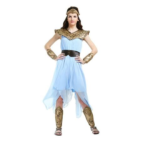 Women's Plus Size Athena Costume](Athena Adult)