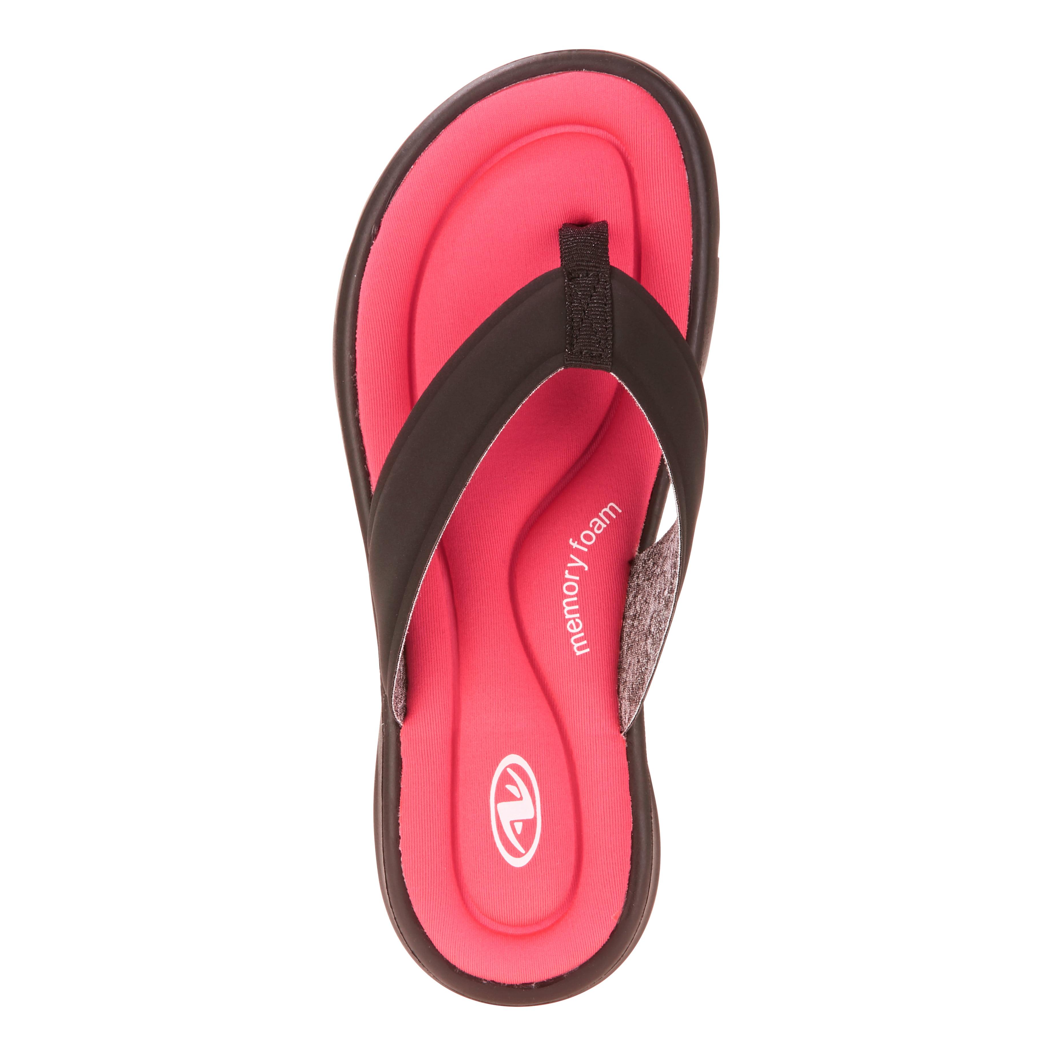Memory Foam Thong Sandal - Walmart