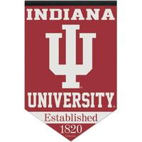 "Indiana Hoosiers WinCraft 17"" x 26"" University Established Premium Banner - No Size"