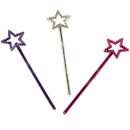Princess Star Wands / Favors (12ct) - Star Wands Wholesale