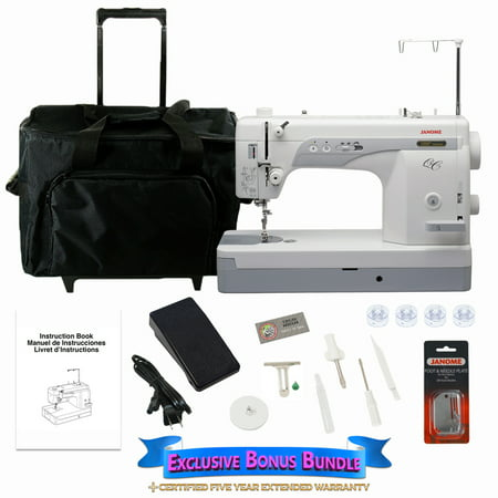 - Janome 1600P-QC High Speed Sewing & Quilting Machine with Exclusive Bonus Bundle