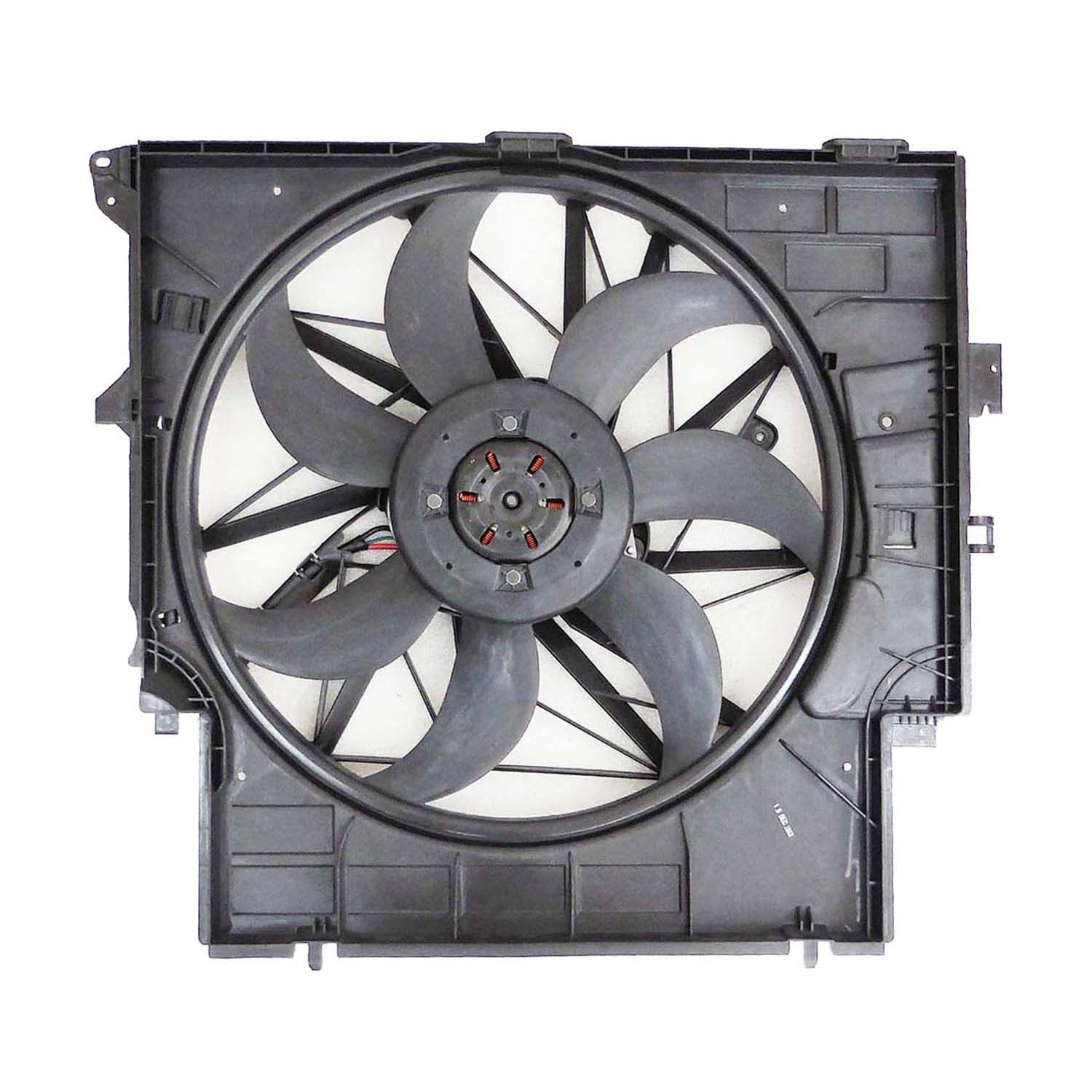 CPP Replacement Engine Cooling Fan Assembly BM3115114 for BMW X3, X4