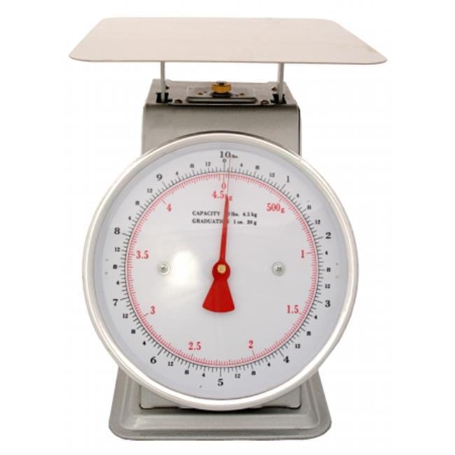 Zenport AZD10-4PK Mechanical Platform Dial Scale 10 lbs., Box of 4
