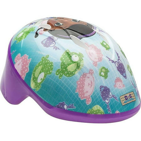 Rider Novelty Helmet - Bell Disney Doc McStuffins Little Doc Rider Toddler Bike Helmet