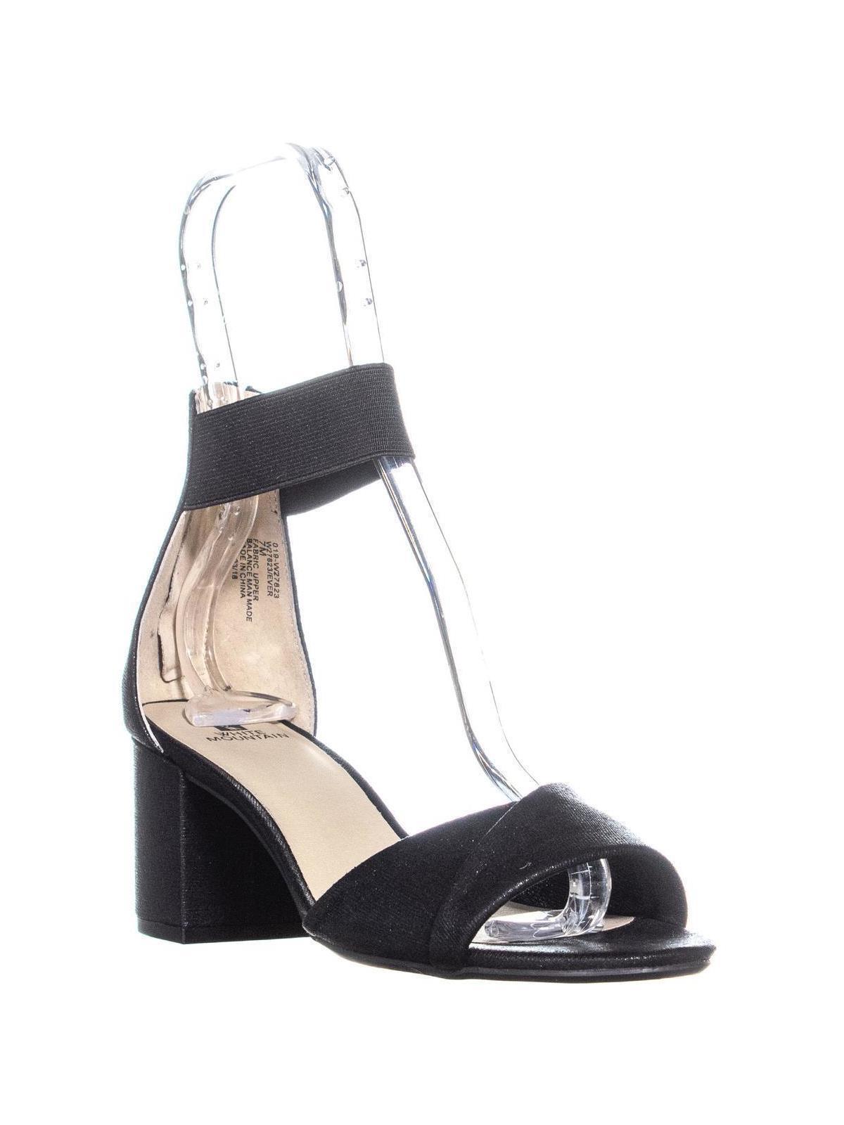 90b094d8661 White Mountain Ever Block Heel Sandals