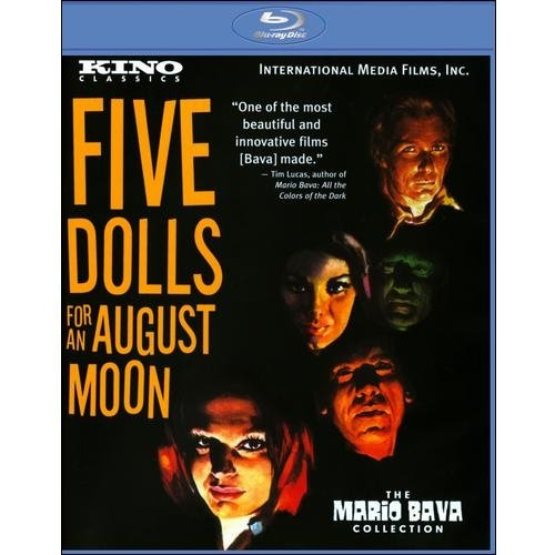 5 Dolls For An August Moon (Uncut) (Blu-ray) (Widescreen)