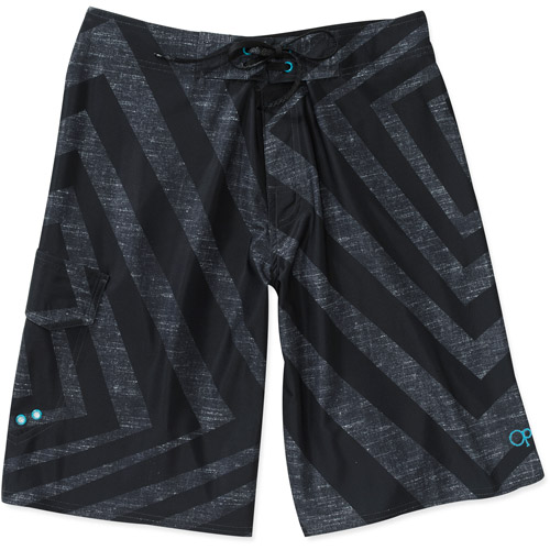 Op Men's Textured Spiral Stretch Boardshorts