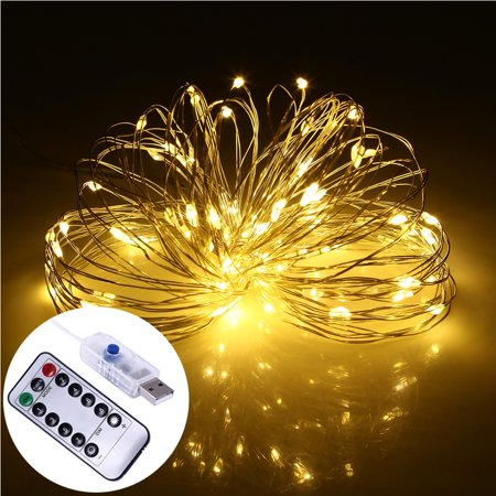 Decorative Led String Lights Dimmable With Remote Control