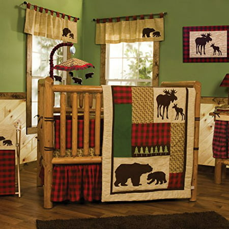 Trend Lab Trend Lab Northwoods 6 Piece Crib Bedding Set