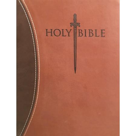 Dark Swords (KJV Sword Study Bible Giant Print Dark Brown Light Brown)
