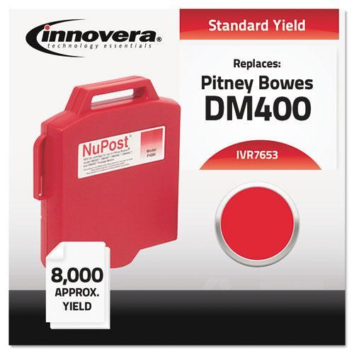Innovera 7653 Compatible with 765-3 Postage Meter, 8000 Page-Yield, Red