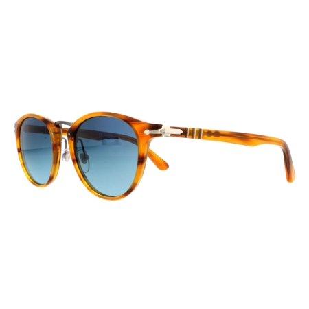 36706da0db Persol - PERSOL Sunglasses PO3108S 960 S3 Striped Brown 49MM - Walmart.com