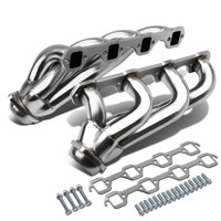 For 1979 to 1993 Ford Mustang 4-1 Design 2-PC Stainless Steel Exhaust Header Kit - 5.0L V8 81 82 83 84 85 86 87 88 89 90 91 92