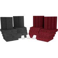 Auralex D36-DST Roominator Kit Charcoal/Burgandy