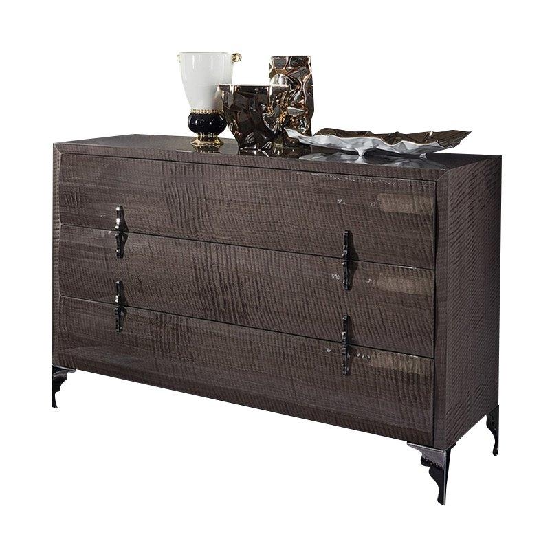 Rossetto Dune Visone 3 Drawer Dresser in Beige by Rossetto