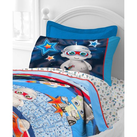 Jump and dream outer space toddler comforter set for Outer space bedding