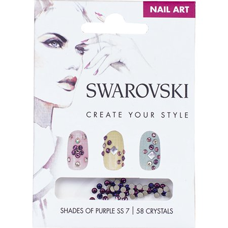 Swarovski Nail Art Loose Crystals - Purple SS7