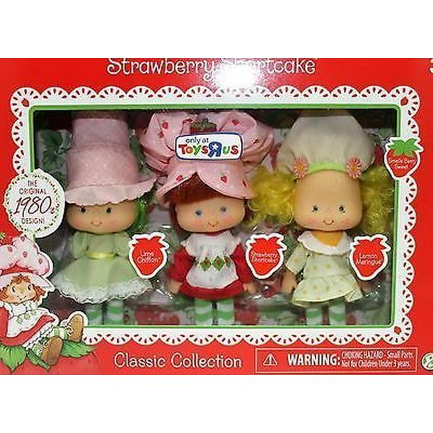 Strawberry Shortcake Retro Doll Multipack Lime And Lemon Walmart Com