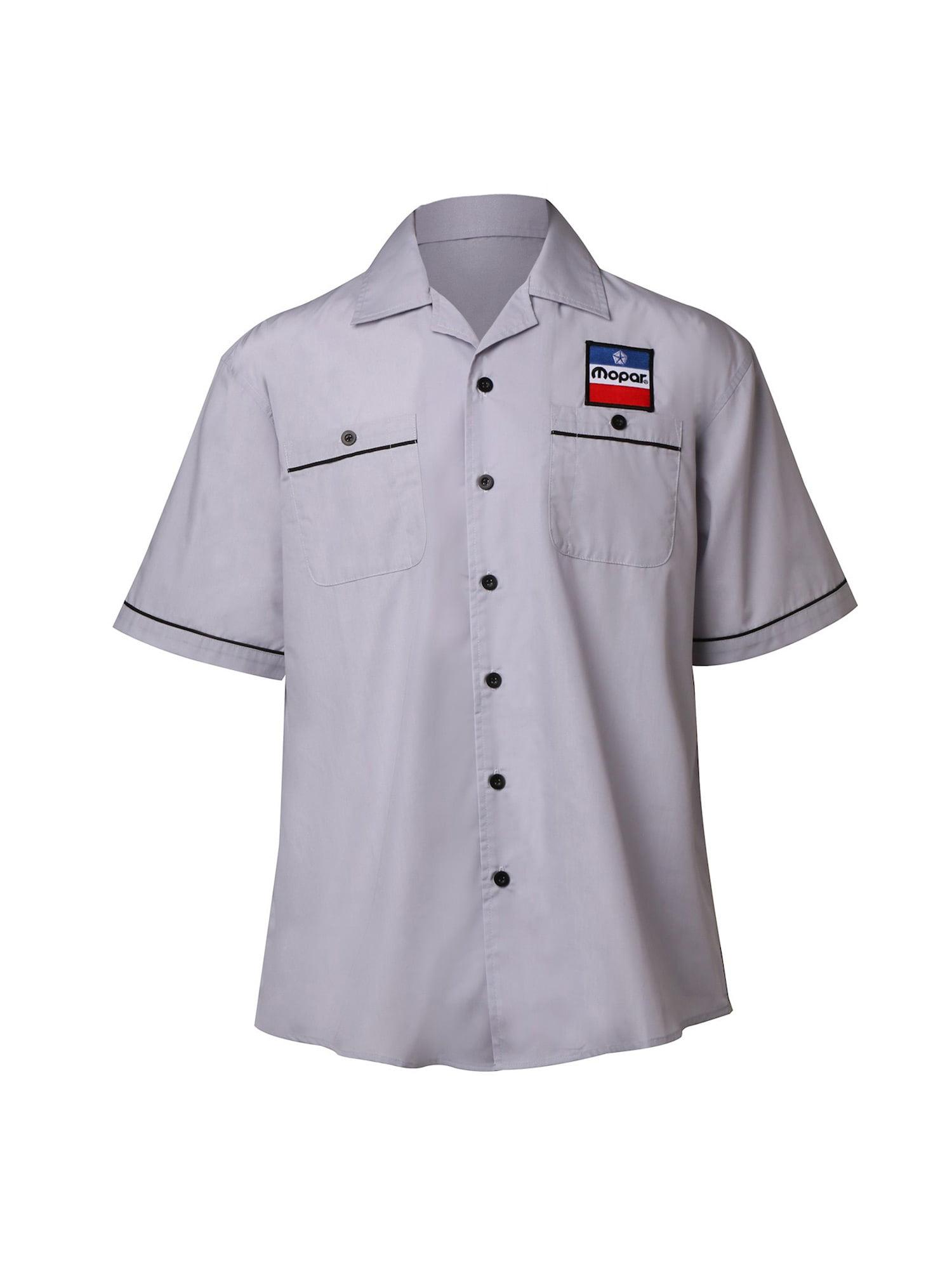 Mechanics Graphic Work Shirt  Short Sleeve Mopar Power