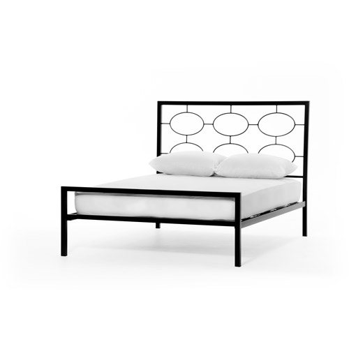 Elipse Cal King Bed, Graphite