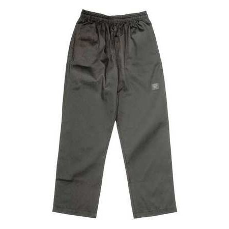 Chef Pants,Baggy,Unisex,Black,S CHEF REVIVAL P020BK-S