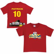 Personalized Thomas & Friends Day of the Diesels Line Up Toddler Boy Red T-Shirt
