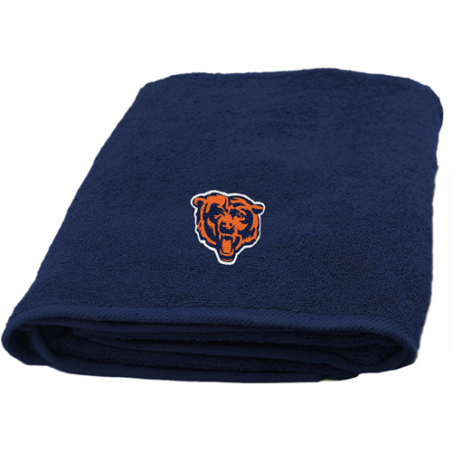 Nfl Applique Bath Towel, Bears