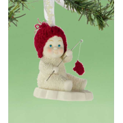 Department 56 Snowbabies Catch of the Day Ornament
