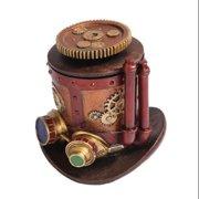 Steampunk Jewelry Box Trinket Machinery Hat Design