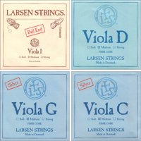 Larsen Viola String Set - Medium Gauge with Ball-End A String