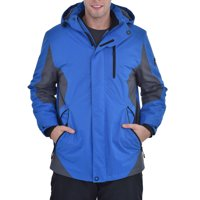 Swiss Alps Men's Windproof Waterproof Winter Ski Jacket