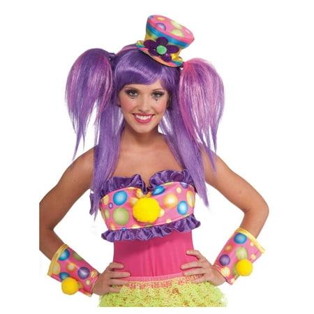 Halloween Accessories Mini Top Hat (Circus Sweetie Adult Mini Top Hat Halloween Costume)