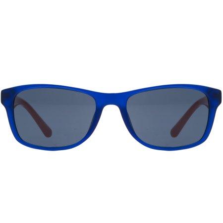 Lacoste L3601/S 424 Blue Rectangle Kids (Lacoste Men's Sunglasses)