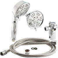 Home Impressions 5-Spray Combo Hand-Held Shower & Showerhead