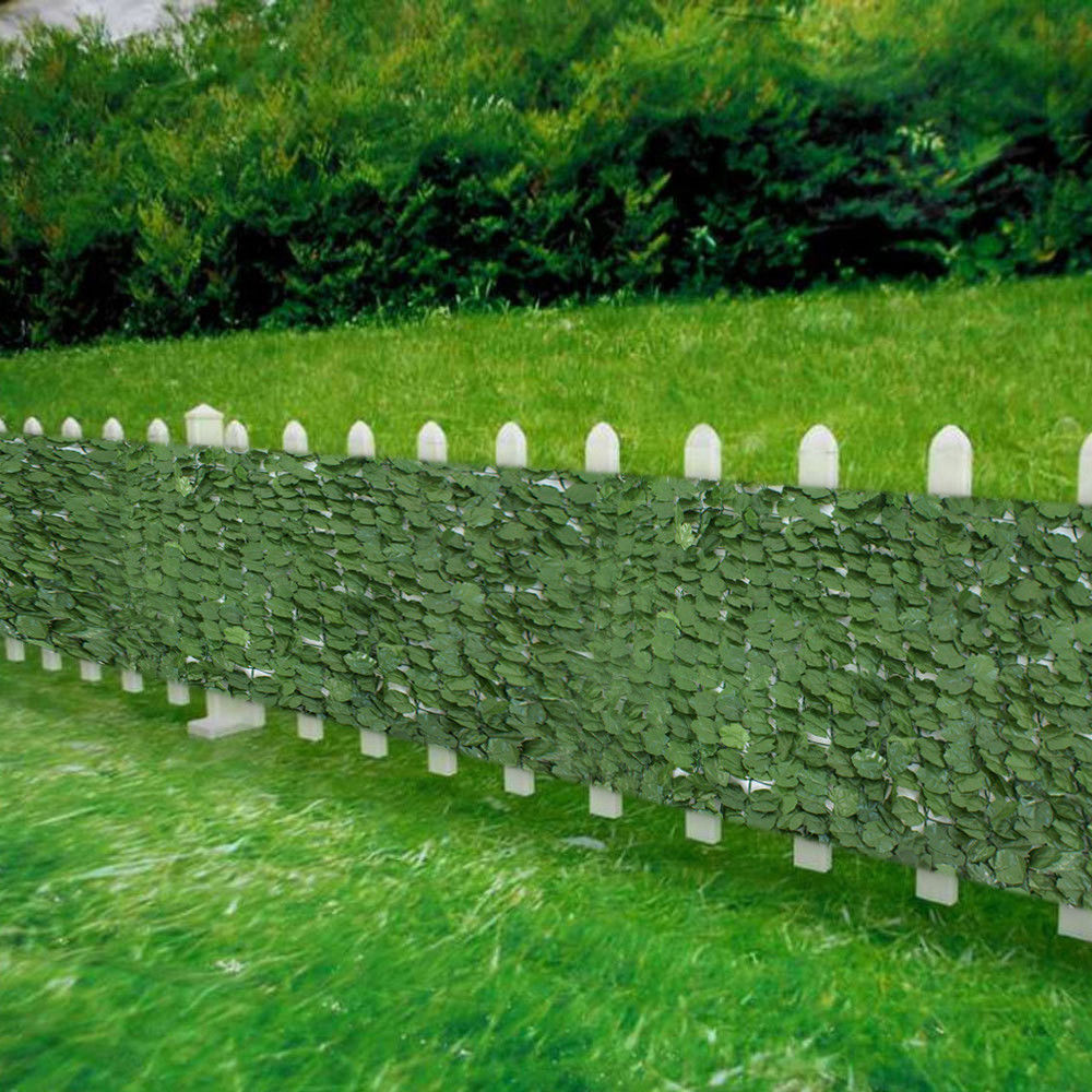 "Zeny Faux Ivy Privacy Fence Screen 94"" X 59"" Artificial Hedge Fencing Outdoor... by"