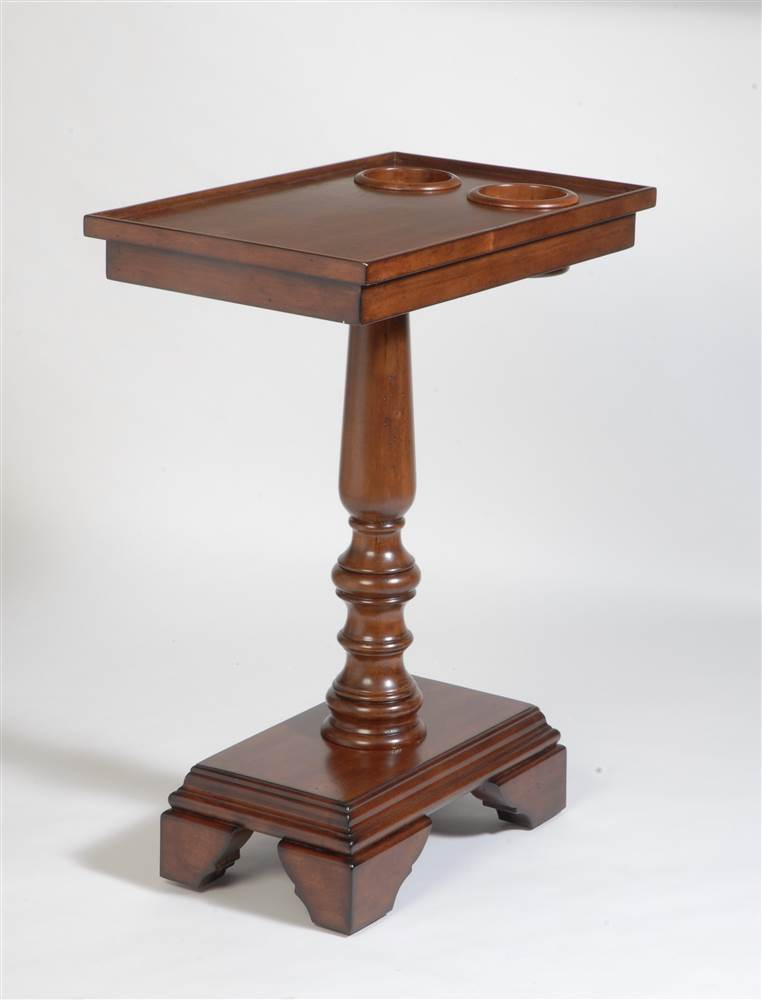 chairside end table with turned leg price tracking