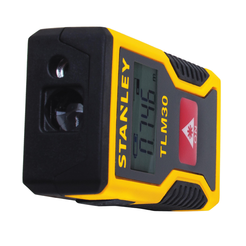 e071f3a78857ee Stanley STHT77425W 30 Foot Pocket Laser Distance Measure - Walmart.com