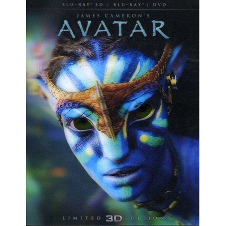 Avatar (3D Blu-ray + Blu-ray/ DVD Combo Pack) (James Cameron Avatar The Game Activation Key)